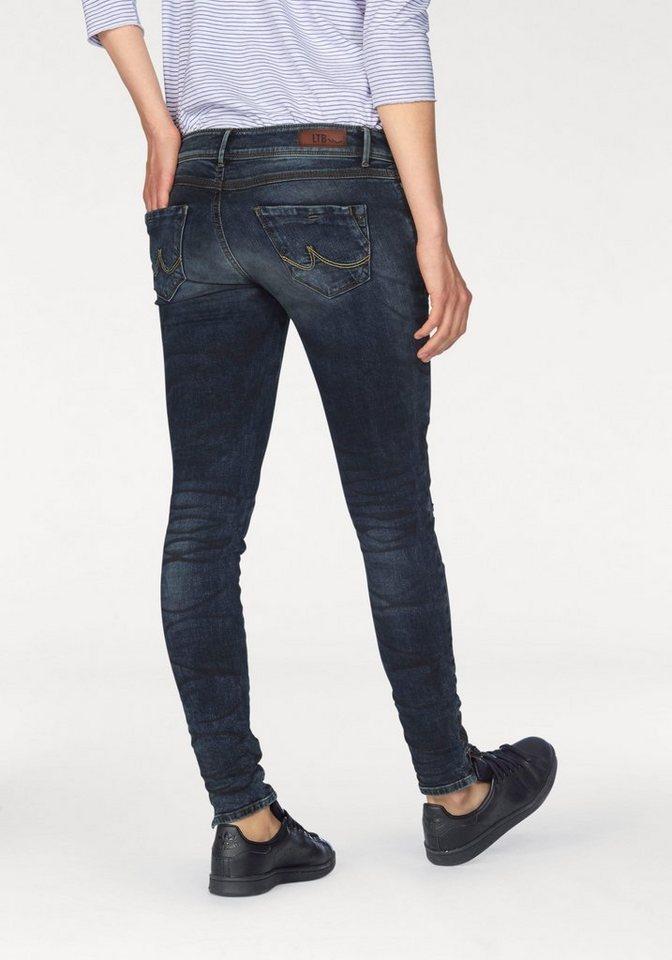 LTB Slim-fit-Jeans »Rosella« mit Lederimitatverzierungen in josseline-wash