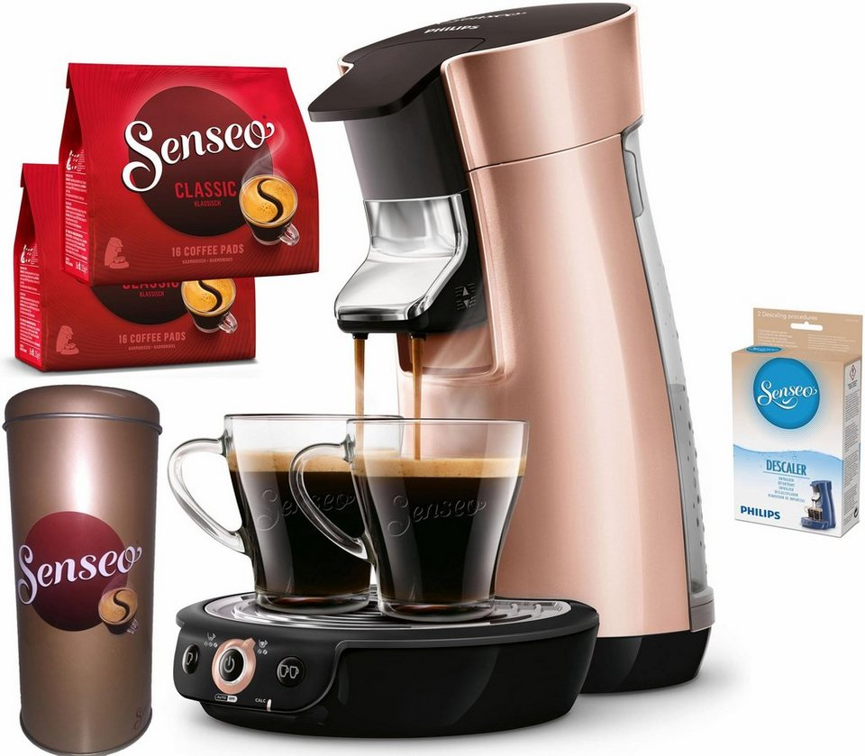 senseo kaffeepadmaschine hd7831 30 viva caf inkl gratis. Black Bedroom Furniture Sets. Home Design Ideas