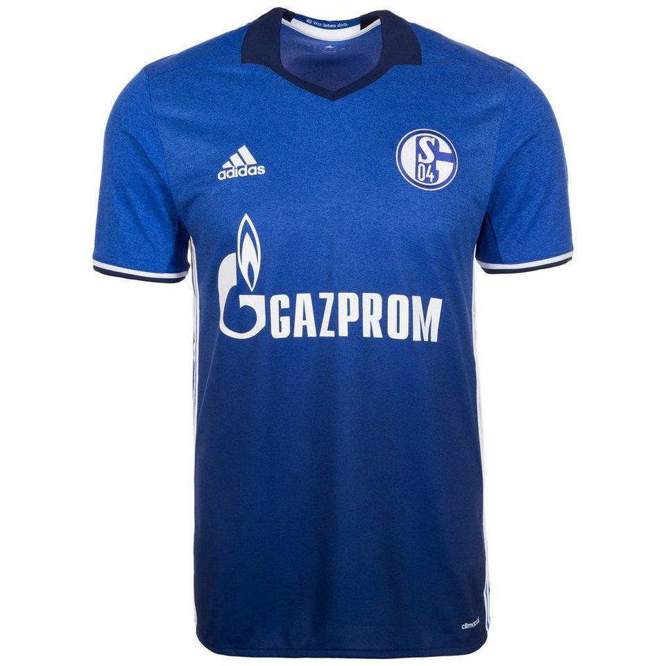 adidas Performance FC Schalke 04 Trikot Home 2016/2017 Herren in blau / weiß