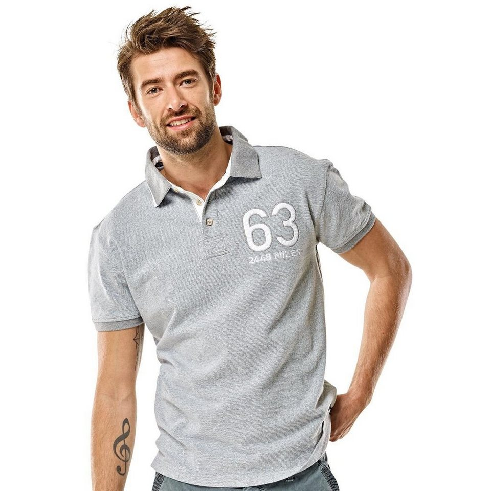 engbers T-Shirt in Silbergrau