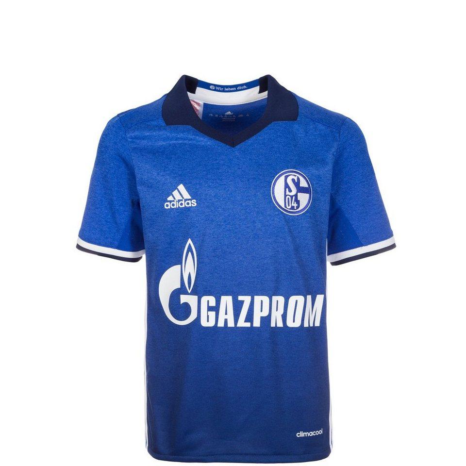 adidas Performance FC Schalke 04 Trikot Home 2016/2017 Kinder in blau / weiß
