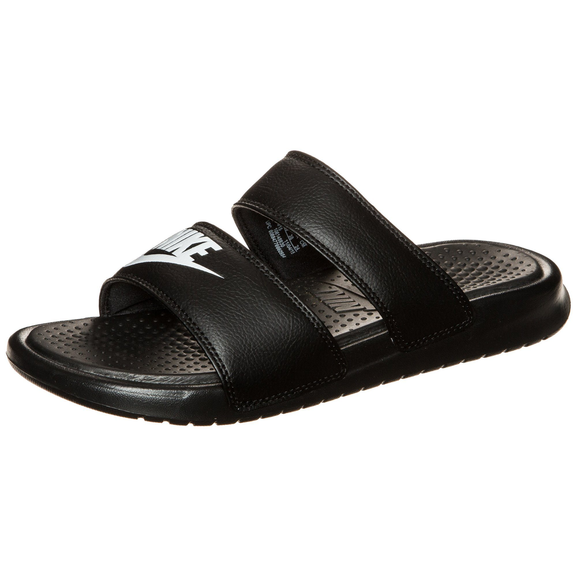 Nike Sportswear Benassi Duo Ultra Slide Badesandale Damen online kaufen  schwarz #ft5_slash# weiß
