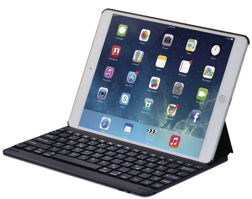 leicke tablet h lle mit bluetooth tastatur im qwertz. Black Bedroom Furniture Sets. Home Design Ideas