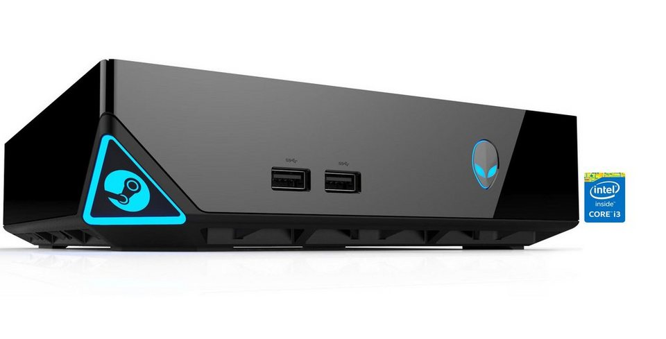 alienware gaming pc steam machine mach 4983 i3 4170t. Black Bedroom Furniture Sets. Home Design Ideas