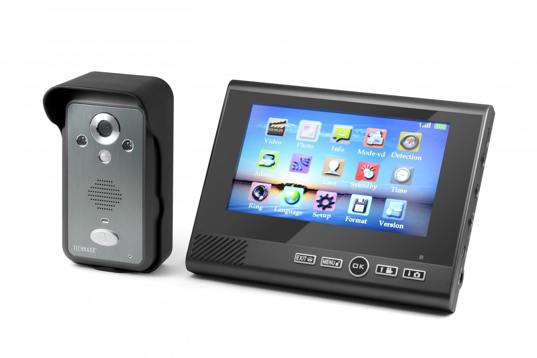 Technaxx Videosprechanlage »Wireless Video Door Phone TX-59«