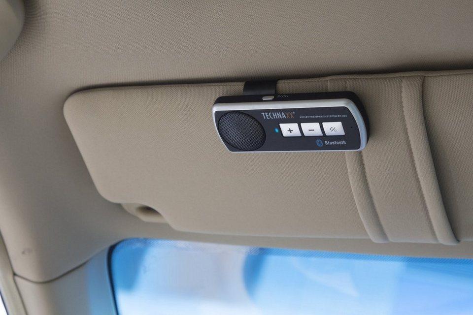 Technaxx Freisprecheinrichtung »Kfz-Bluetooth Freisprecheinrichtung BT-X22«