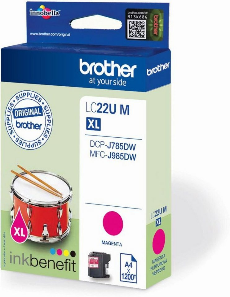 Brother Tintenpatrone »Tintenpatrone LC-22UM« in keine Farbe
