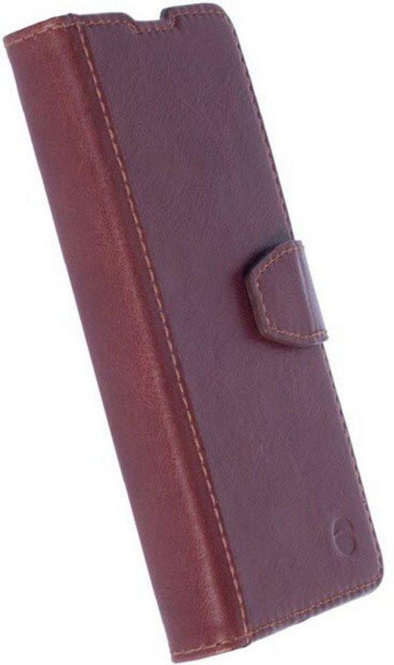 Krusell Handytasche »FolioWallet Sigtuna für Sony Xperia XA« in Braun