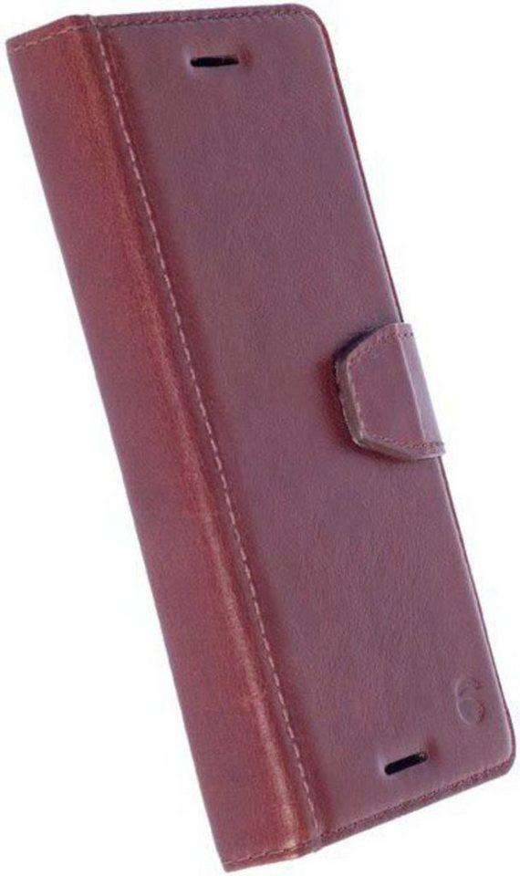 Krusell Handytasche »FolioWallet Sigtuna für Sony Xperia X« in Braun