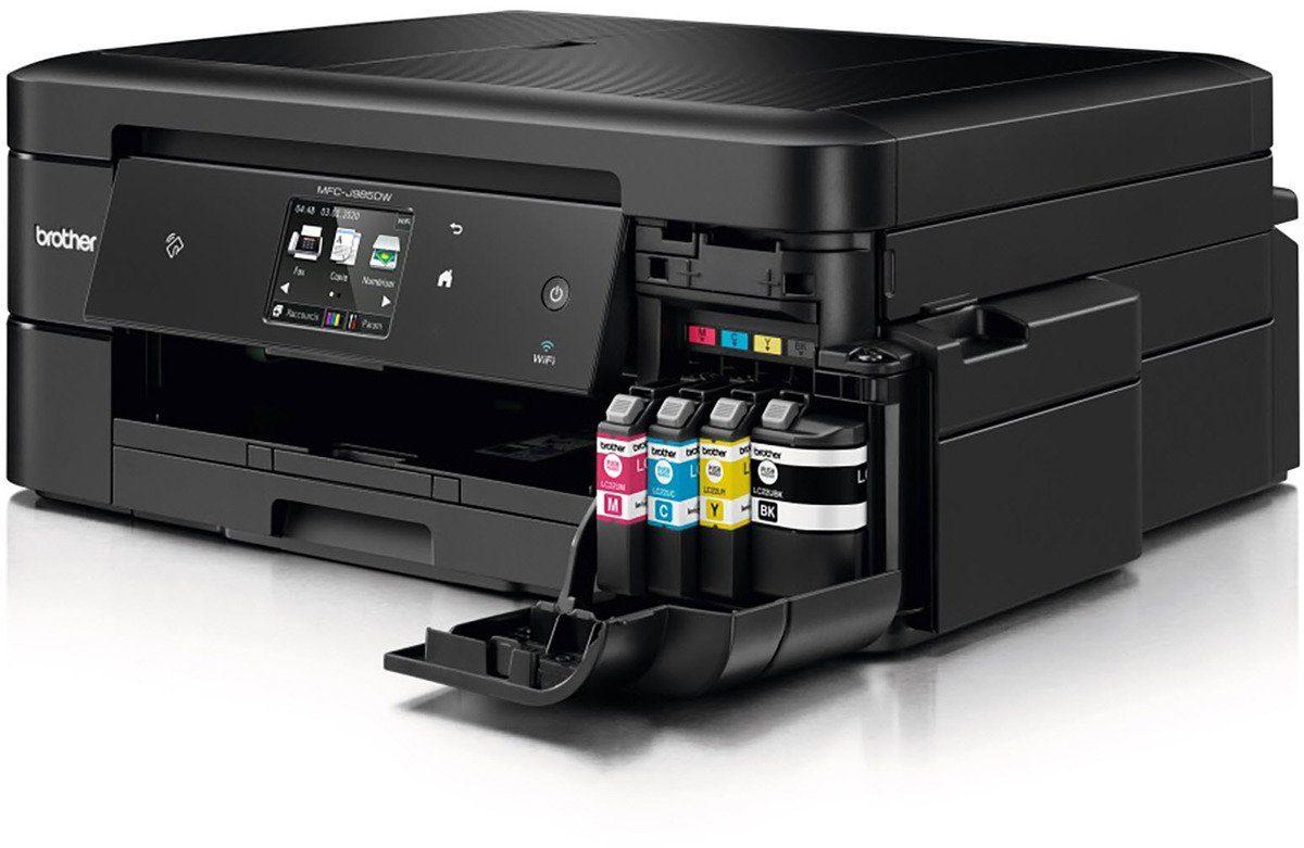 Brother Tintenstrahl-Multifunktionsdrucker »MFC-J985DW 4in1 Multifunktionsdrucker«