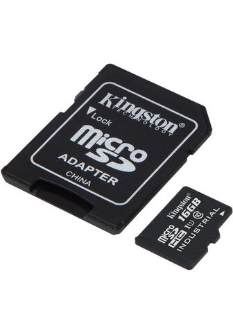KINGSTON Atminties kortelė »microSDHC Industria...
