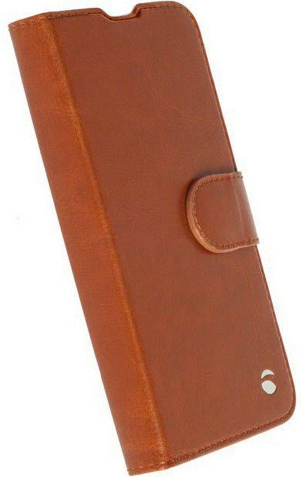 Krusell Handytasche »FolioWallet Ekerö 2 in 1 für Xperia XA« in Cognac