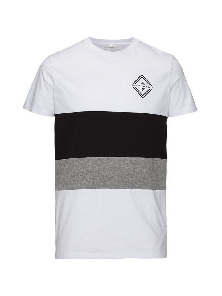 Jack & Jones Oversize-Grafik- T-Shirt in White