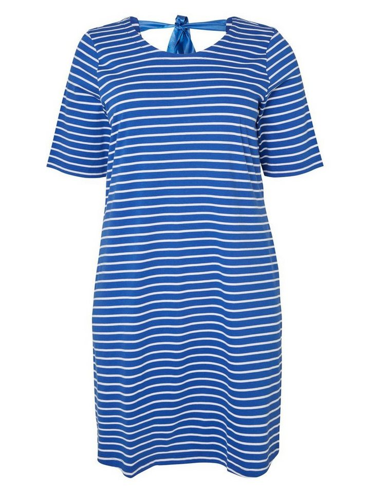 JUNAROSE Jersey- Kleid in Surf The Web