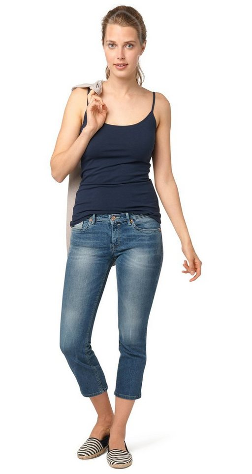 TOM TAILOR Jeans »7/8-Jeans im Vintage-Stil« in vintage stone wash d
