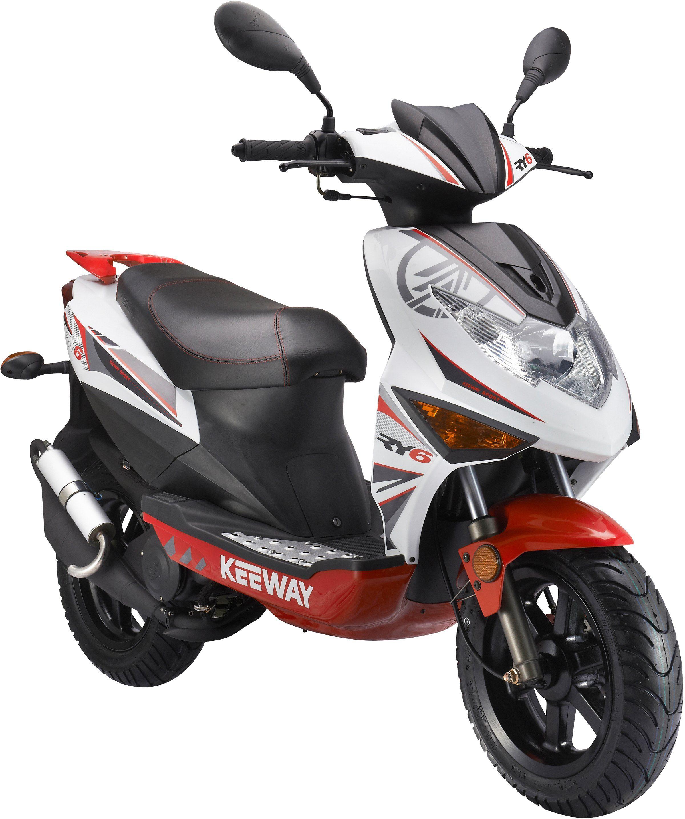 Keeway Mofaroller, 50 ccm, 25 km/h, »RY6 Racing«