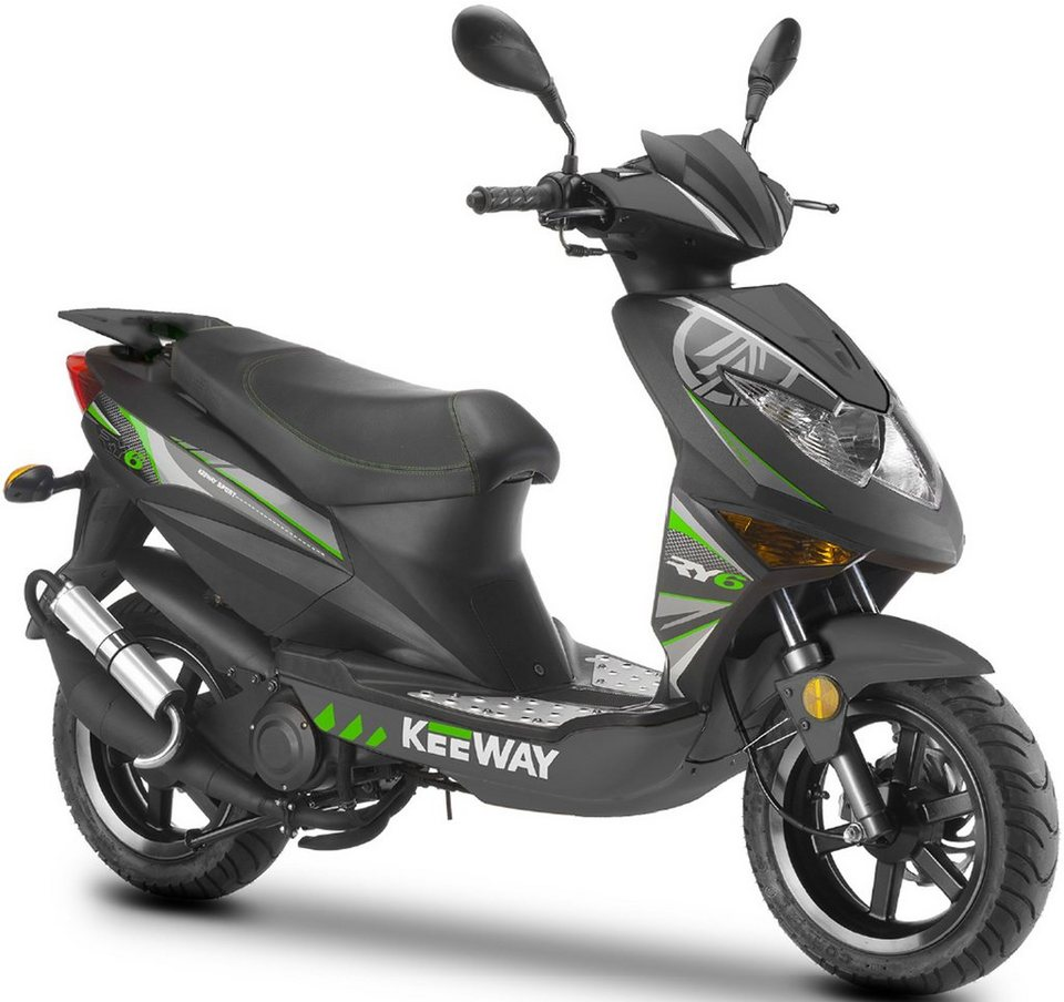 keeway mofaroller 50 ccm 25 km h ry6 racing otto. Black Bedroom Furniture Sets. Home Design Ideas