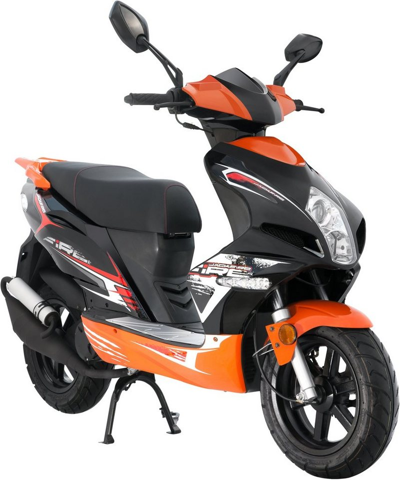 luxxon motorroller 50 ccm 45 km h jackfire otto. Black Bedroom Furniture Sets. Home Design Ideas