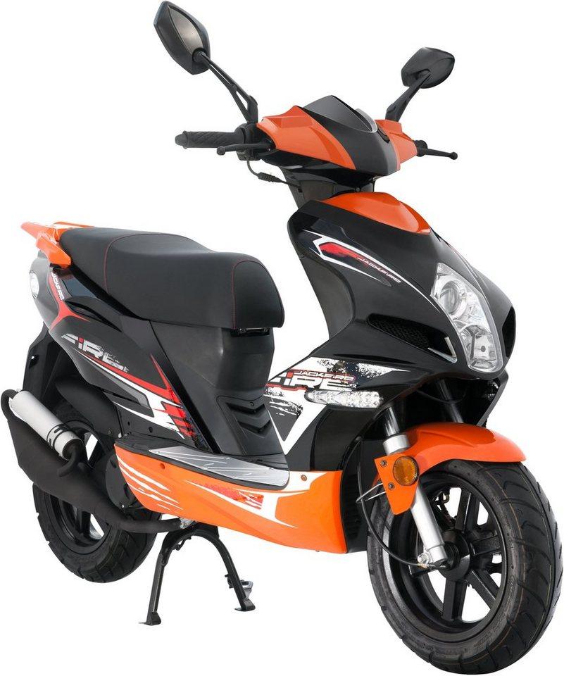 Motorroller 50 Ccm : luxxon motorroller 50 ccm 45 km h jackfire otto ~ Kayakingforconservation.com Haus und Dekorationen