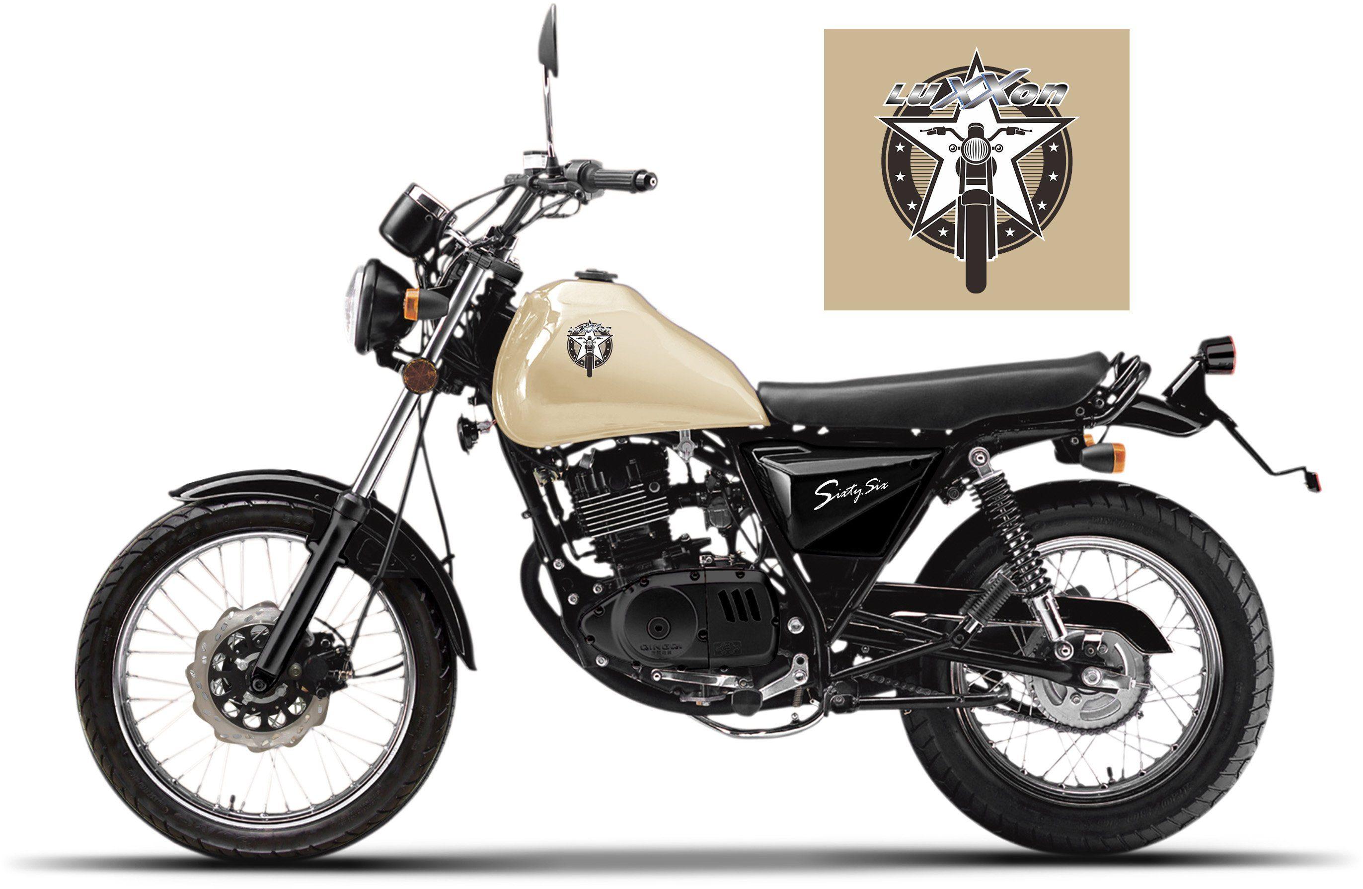Luxxon Motorrad, 125 ccm, 101 km/h, »SixtySix«