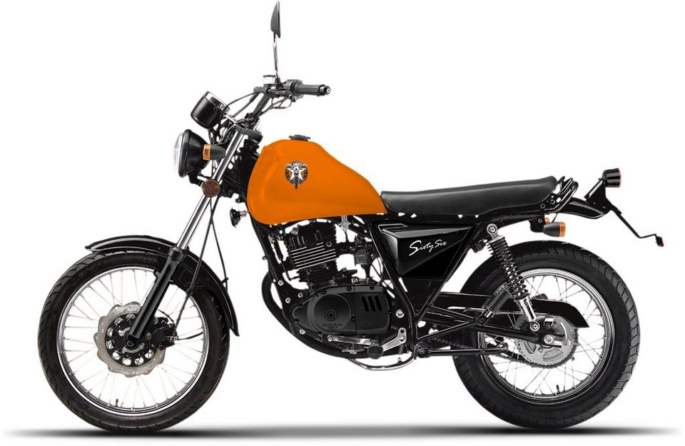Luxxon Motorrad, 125 ccm, 101 km/h, »SixtySix« in orange