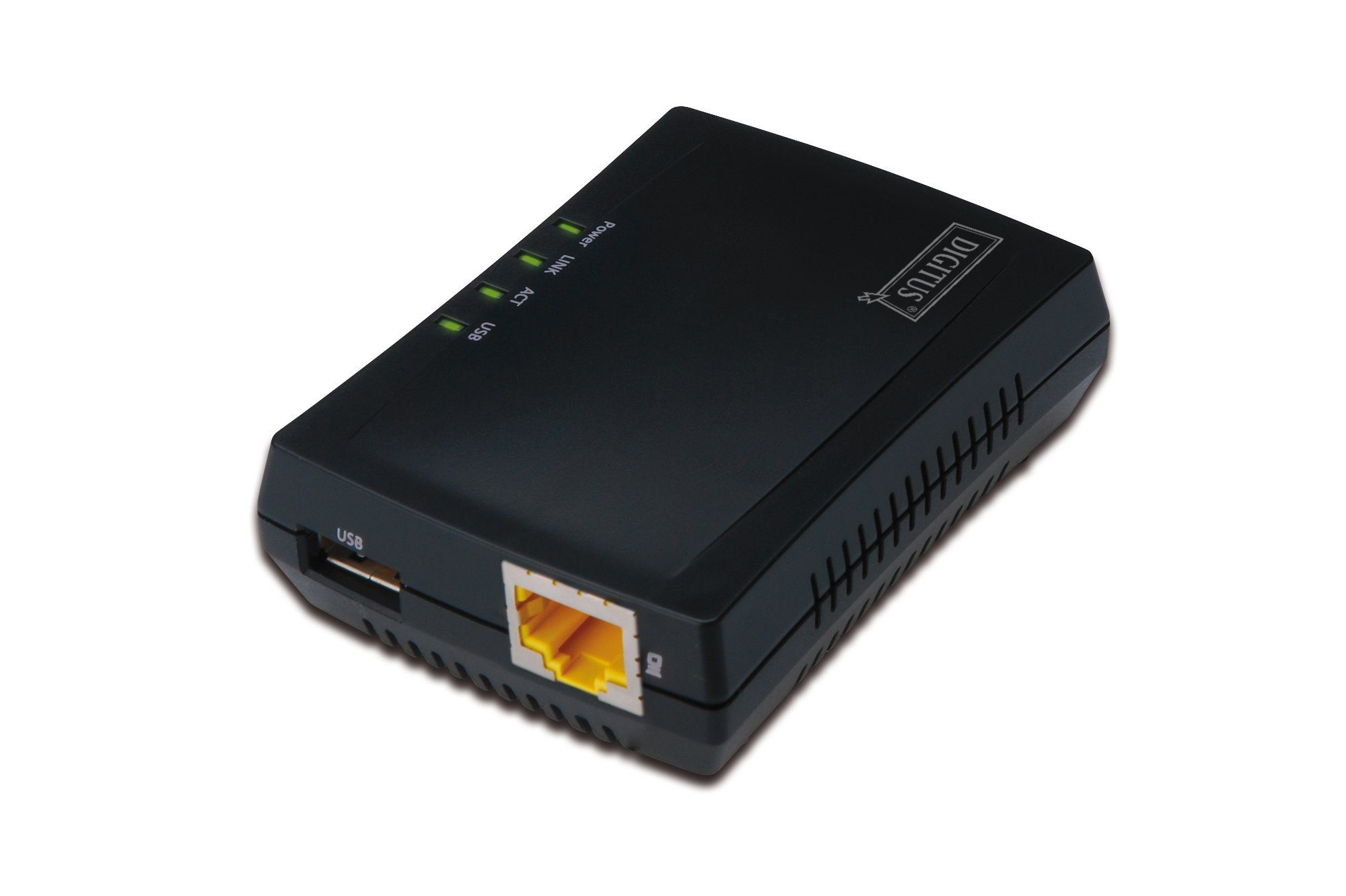Digitus Karte & Adapter extern »1-Port USB 2.0 Multifunction Network Server«