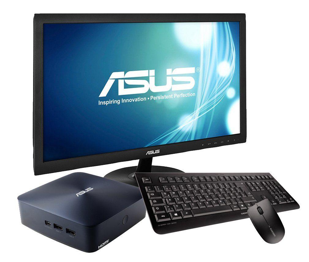 ASUS PC Set, Intel® Celeron® N3150, 2GB, 32GB, Windows 10 + Monitor »PC-Set SET01061«