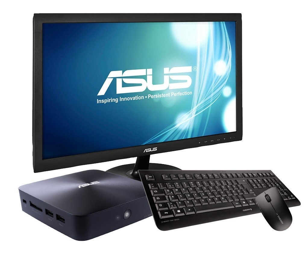 ASUS SET01063, Celeron® 2957U, 4GB, 128GB, Windows 8.1Bing + Monitor »PC-Set SET01063«