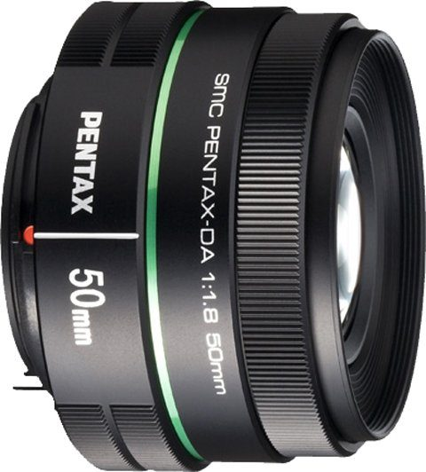 PENTAX Premium smc DA 50mm Festbrennweite Objektiv