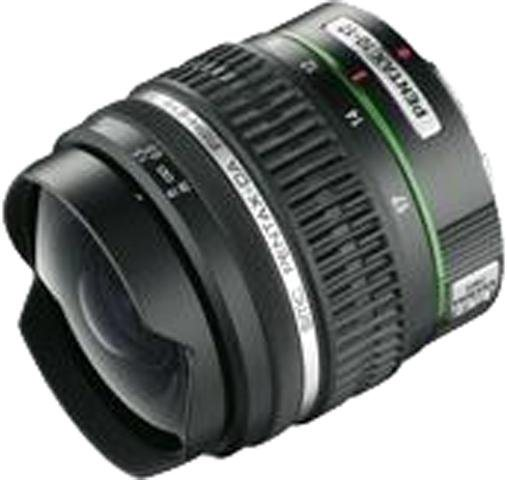 PENTAX Premium smc-DA 10-17 mm ED (IF) Fisheye Objektiv in schwarz