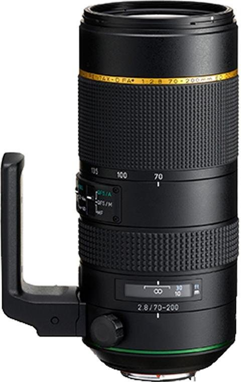 PENTAX Premium HD-D FA 70-200 mm ED DC AW Telezoom Objektiv in schwarz