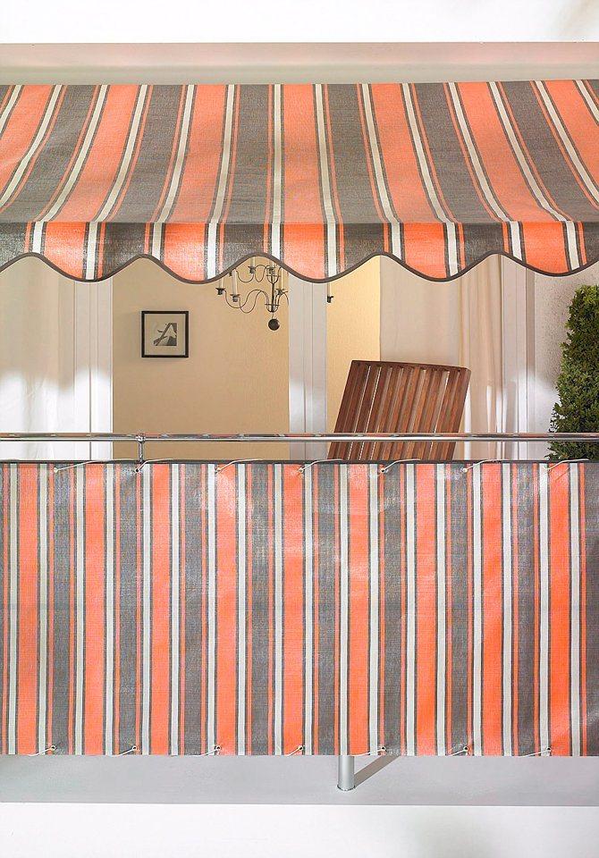 klemmmarkise orange braun gestreift online kaufen otto. Black Bedroom Furniture Sets. Home Design Ideas