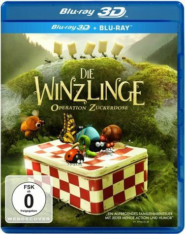 Blu-ray »Die Winzlinge - Operation Zuckerdose (Blu-ray 3D)«