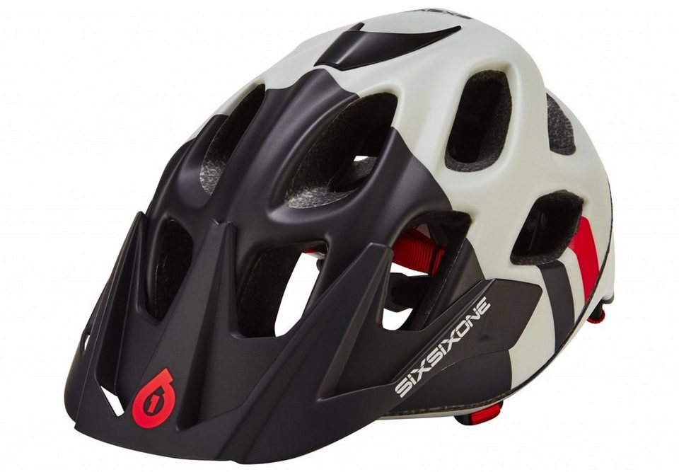 SixSixOne Fahrradhelm »Recon Scout Helmet« in schwarz