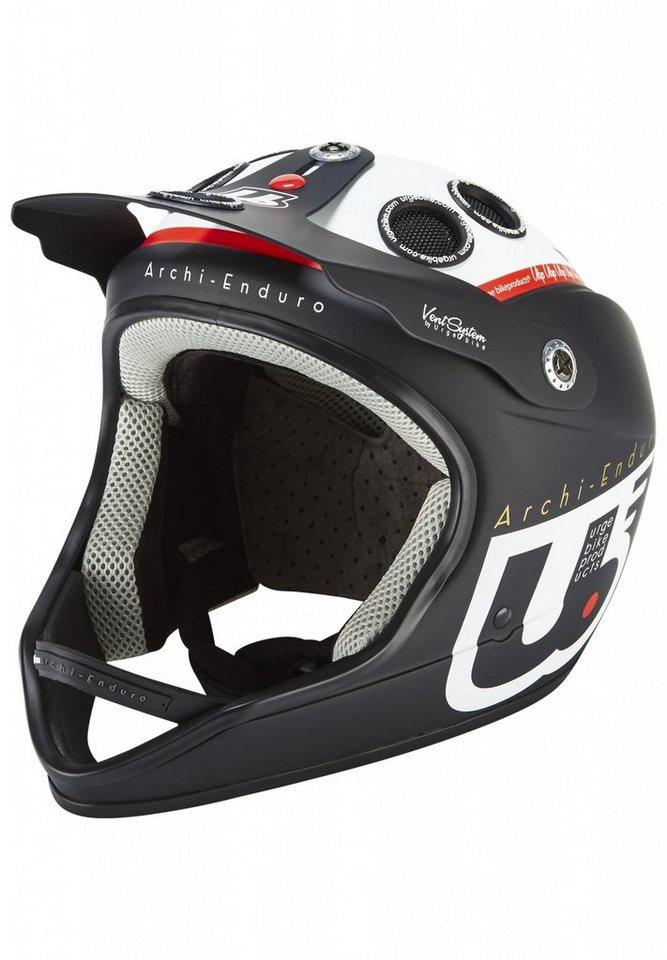 Urge Fahrradhelm »Archi-Enduro Helmet« in schwarz