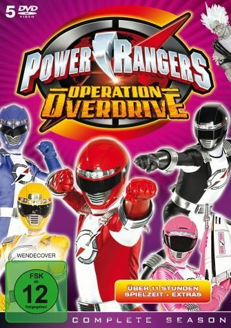 DVD »Power Rangers - Operation Overdrive: Complete...«
