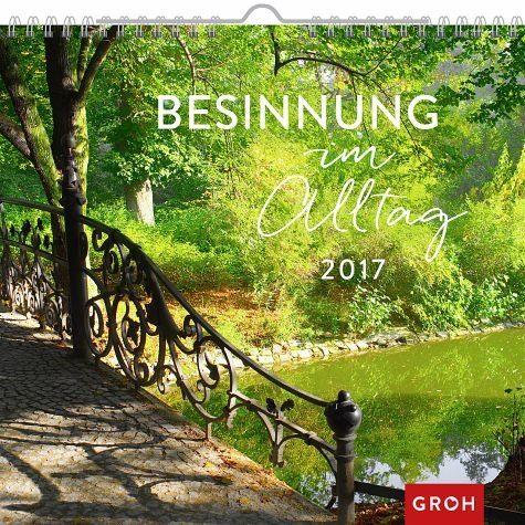 Kalender »Besinnung im Alltag 2017«