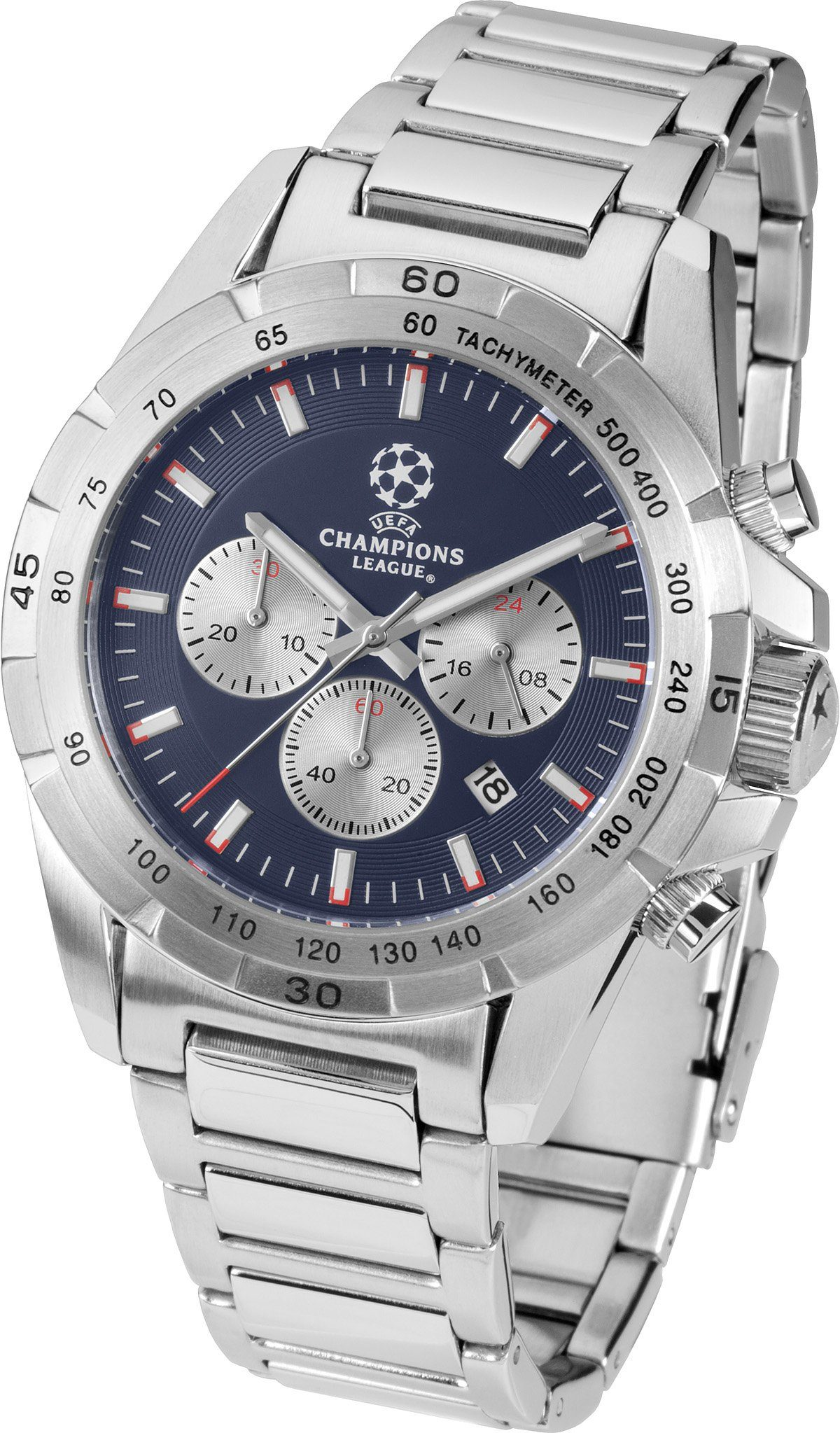 Jacques Lemans Sports Chronograph »UEFA CHAMPIONS LEAGUE, U-59C«