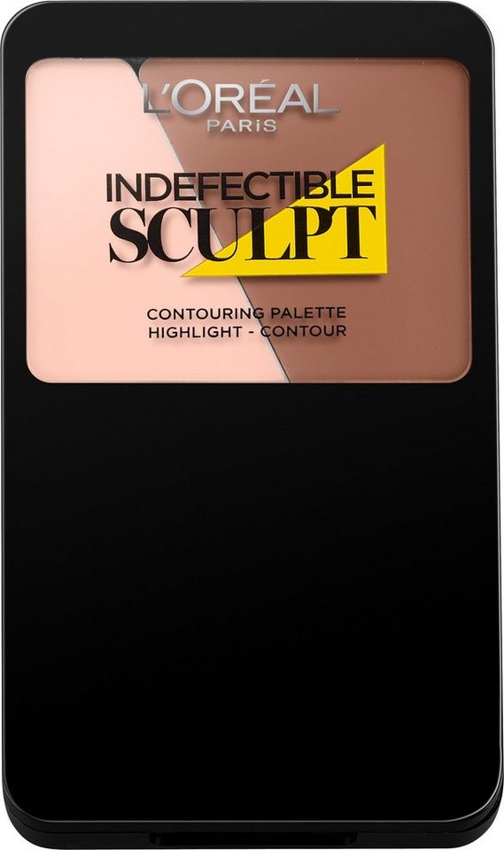 L'Oréal Paris, »Indefectible Sculpt«, Contouring Palette in 100 Light