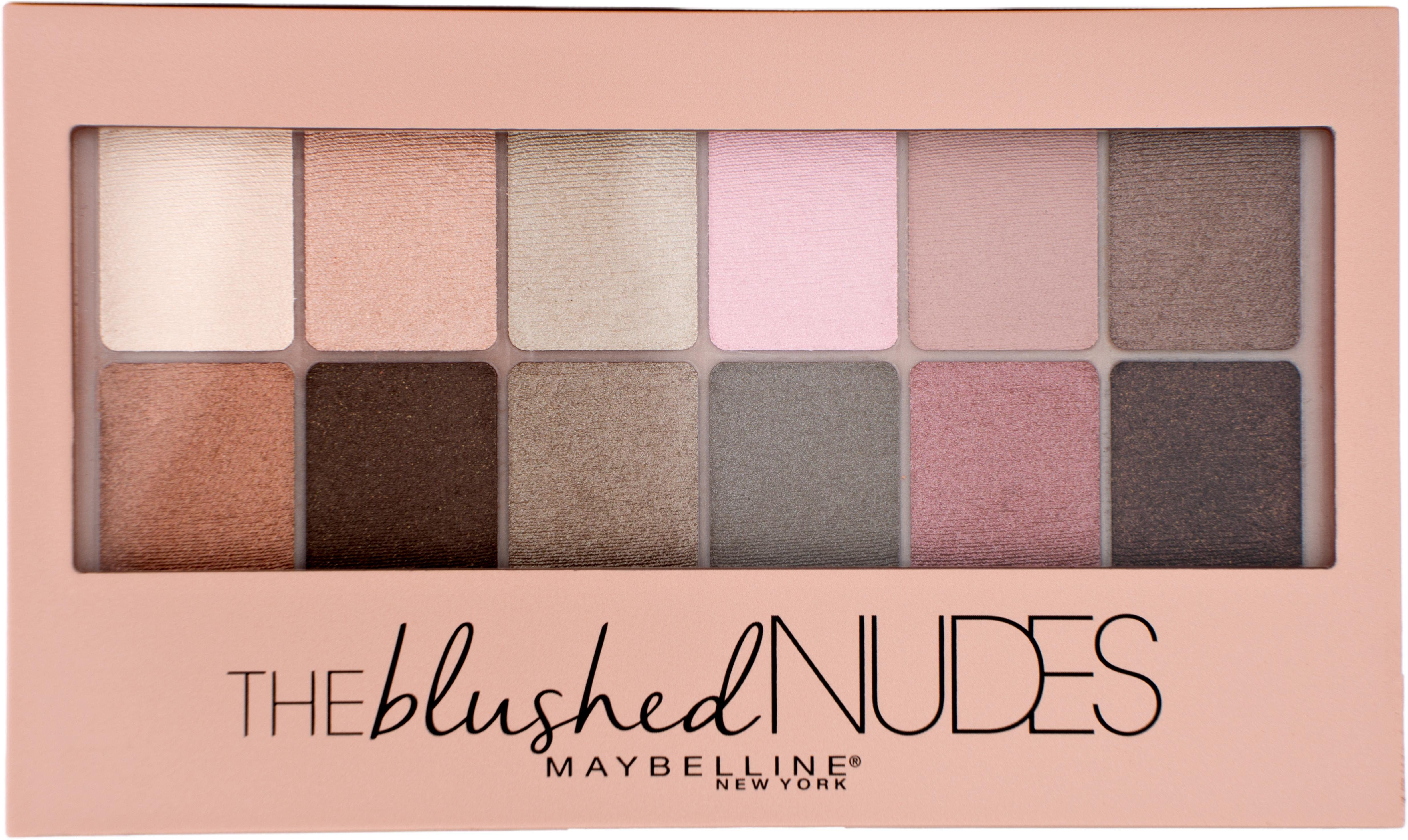 Maybelline New York, »The Blushed Nudes«, Lidschatten-Palette