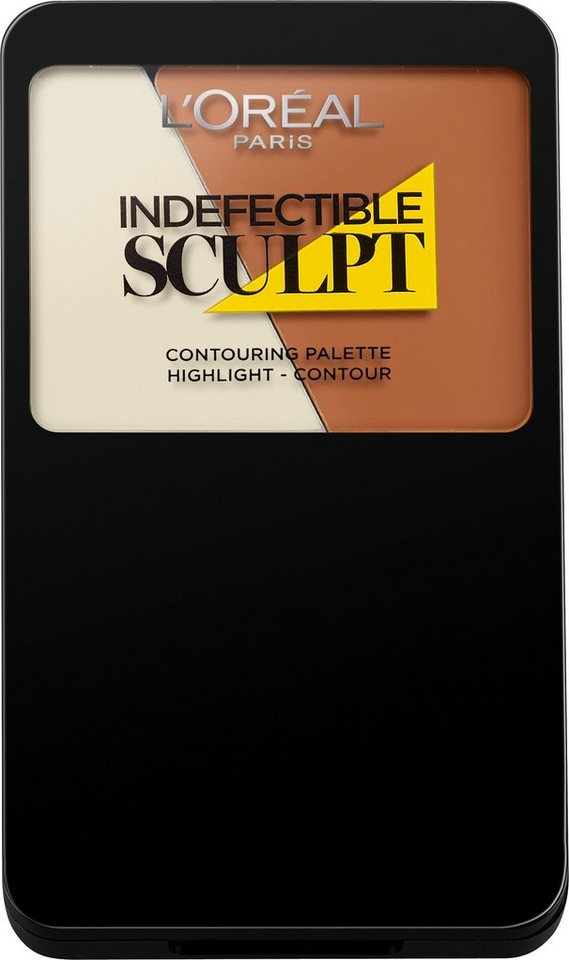 L'Oréal Paris, »Indefectible Sculpt«, Contouring Palette in 200 Medium Light