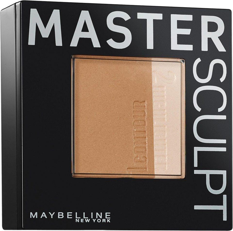 Maybelline New York, »Master Sculpt«, Kontur-Duo-Puder in Light Medium