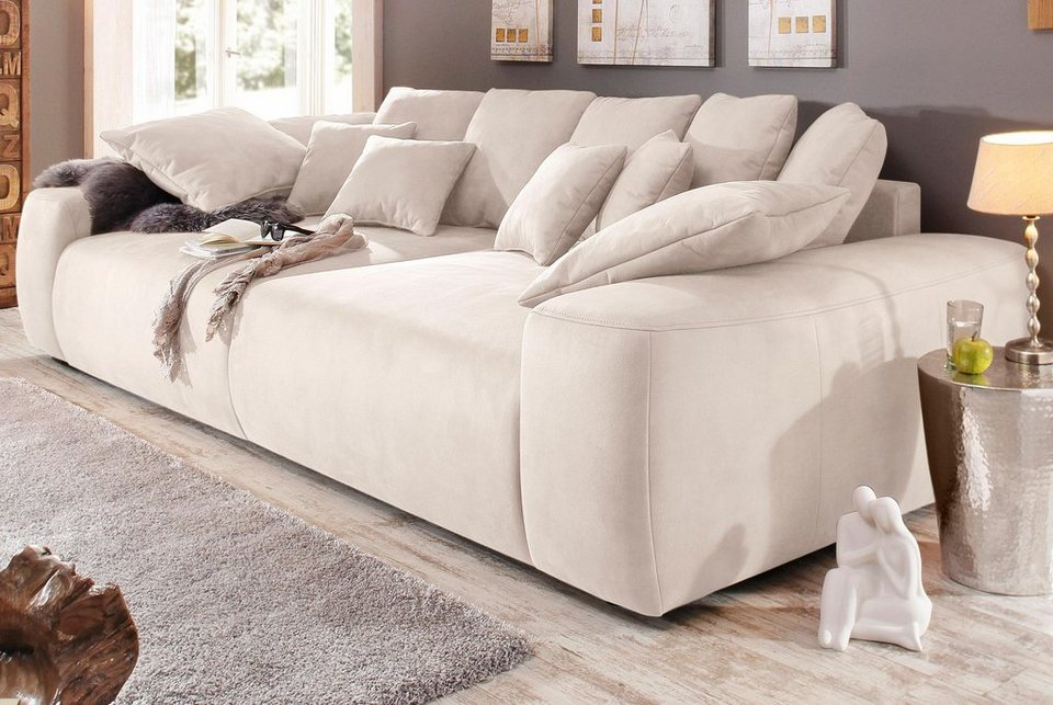 Home affaire Big-Sofa, Breite 302 cm in natur