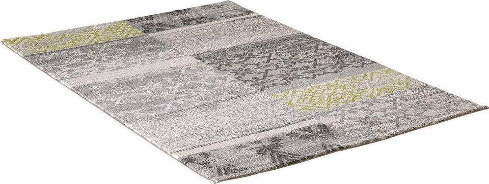 Teppich, Impression, »Vintage 1612«, gewebt in grau