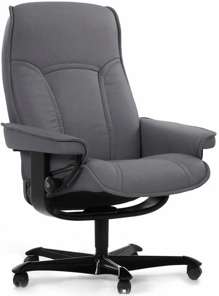 Stressless® Relax- Bürosessel Home Office »Senator«, mit Schlaffunktion in grey