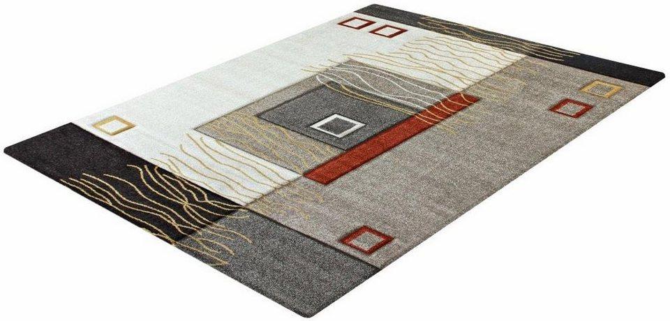 Teppich, Impression, »Sumatra 1504«, gewebt in beige
