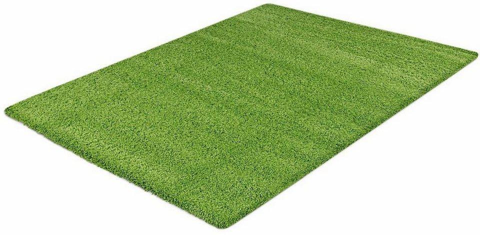 Hochflor-Teppich, Impression, »Himalaya«, Höhe 50 mm, gewebt in grün
