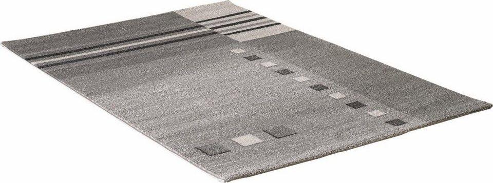 Teppich, Impression, »Luna 1705«, gewebt in grau