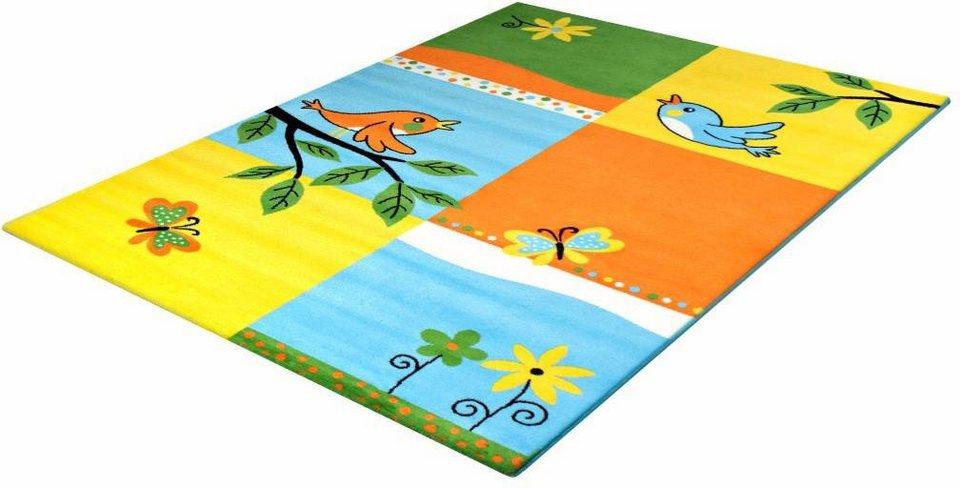 Kinder-Teppich, Impression, »Bambino 2103«, gewebt in gelb