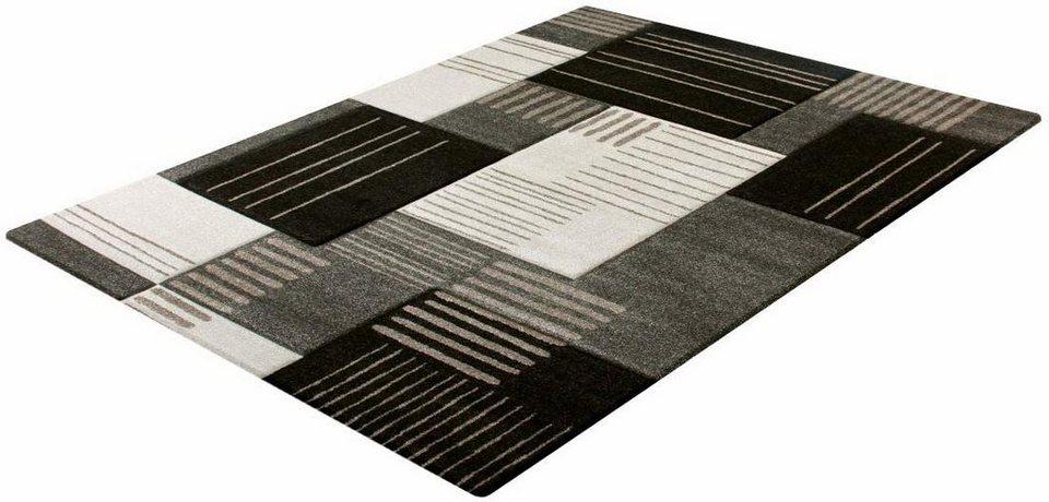 Teppich, Impression, »Sumatra 1502«, gewebt in dunkelbraun